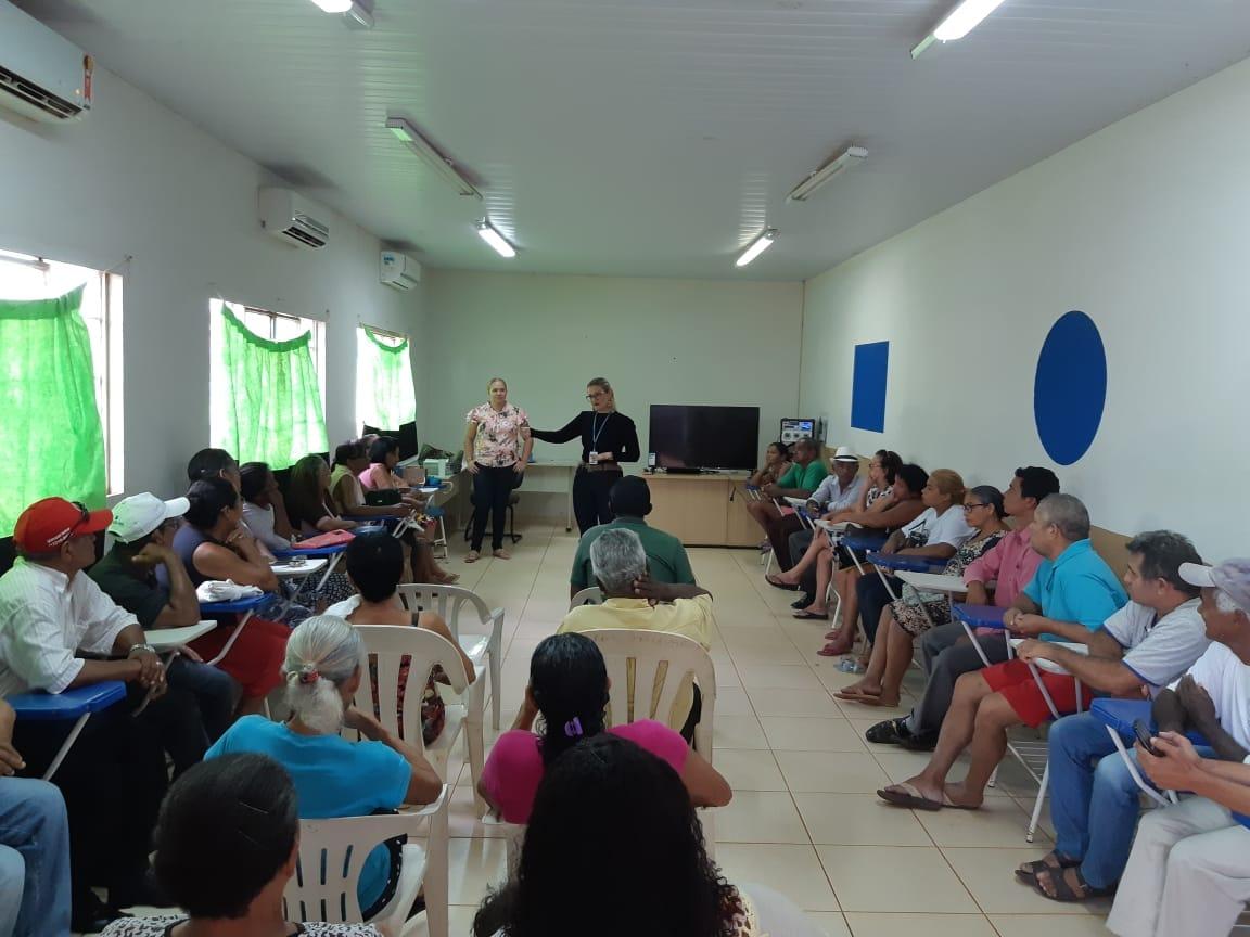 Cras Taquari promove palestra sobre previdência social