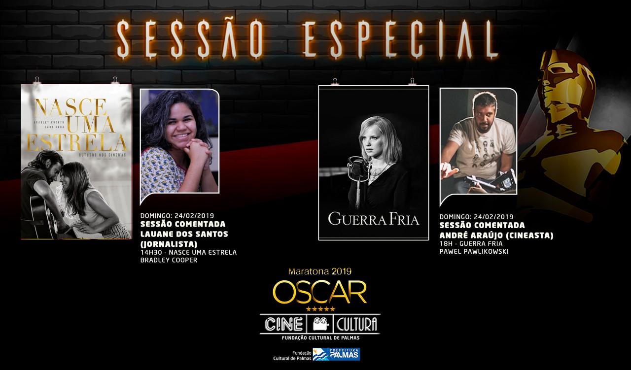 Indicados ao Oscar, Nasce uma Estrela e Guerra Fria, terão sessões comentadas no Cine Cultura no domingo, 24