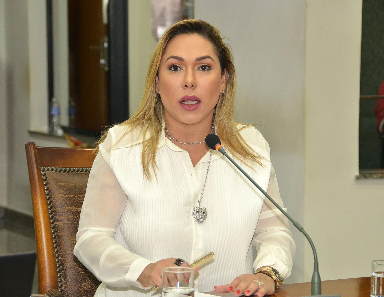Deputada Luana solicita pavimentação asfáltica para municípios