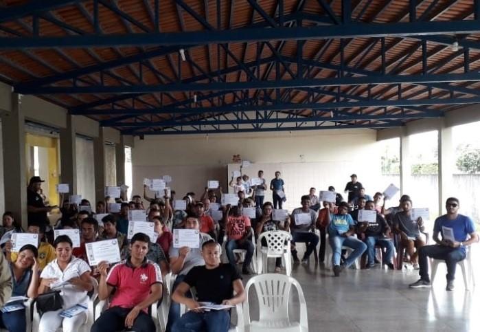 Polícia Comunitária realiza Curso de Agentes Comunitários em Carmolândia