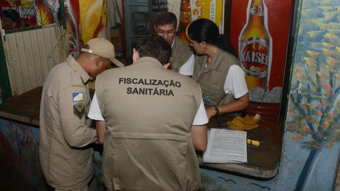 Primeira operação integrada de 2019 faz 10 abordagens em bares da Capital e interdita quatro por perturbação do sossego
