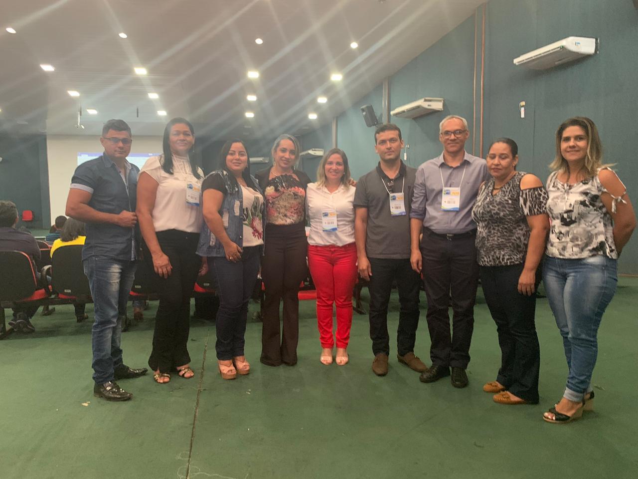 Servidores de Lagoa da Confusão participam de seminário em Palmas organizado pela ATM