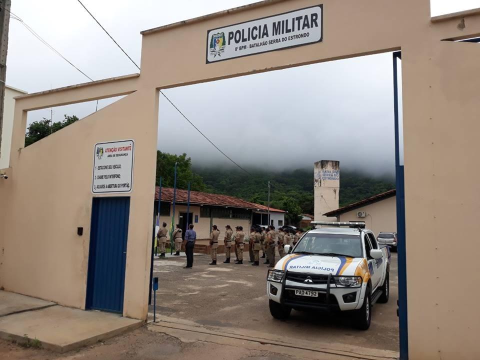 """8º BPM prende dois homens envolvidos em roubo """"Novo Cangaço"""" de Rio Maria (PA)"""