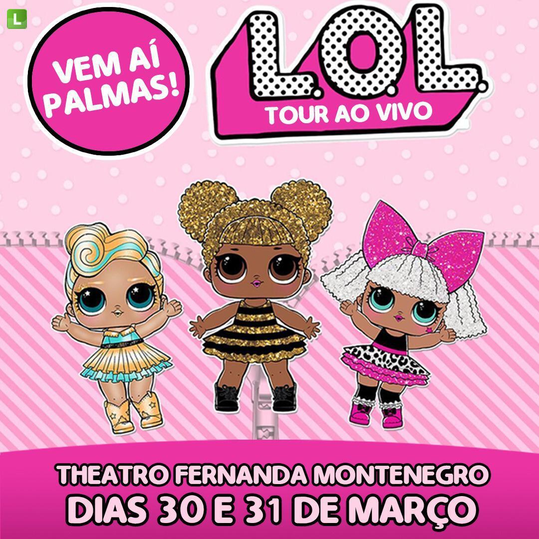 Bonequinhas LOL chegam ao Theatro Fernanda Montenegro no espetáculo LOL – Tour ao vivo nos dias 30 e 31