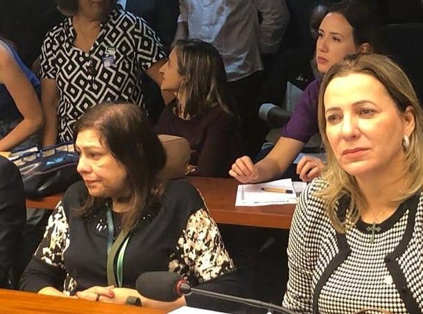 Dulce Miranda participa de debate com ministro da Saúde na Câmara dos Deputados