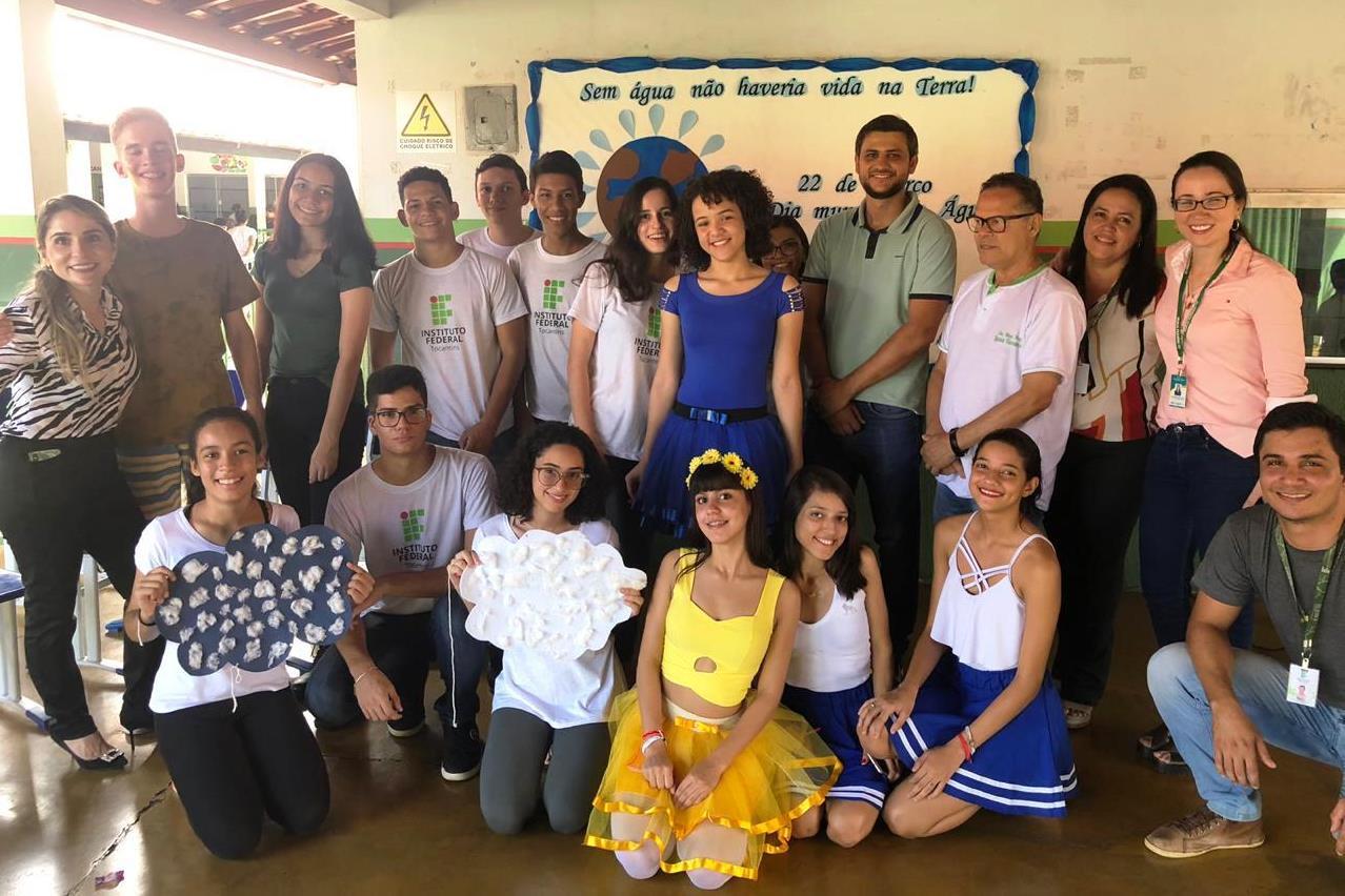 Escola Municipal Luzia Tavares recebe ação alusiva a Semana da Água