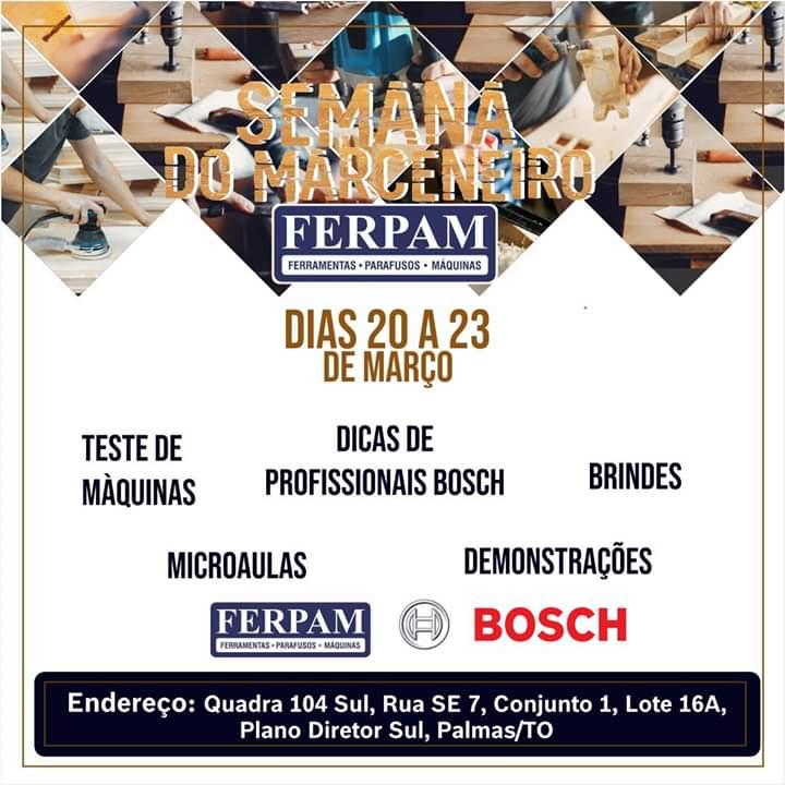 Ferpam promove a Semana do Marceneiro em Palmas (TO)