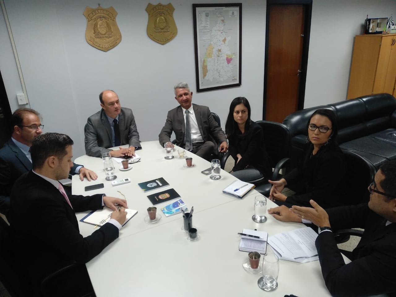 Segurança Pública TO e Polícia Federal iniciam tratativas para cooperação técnica