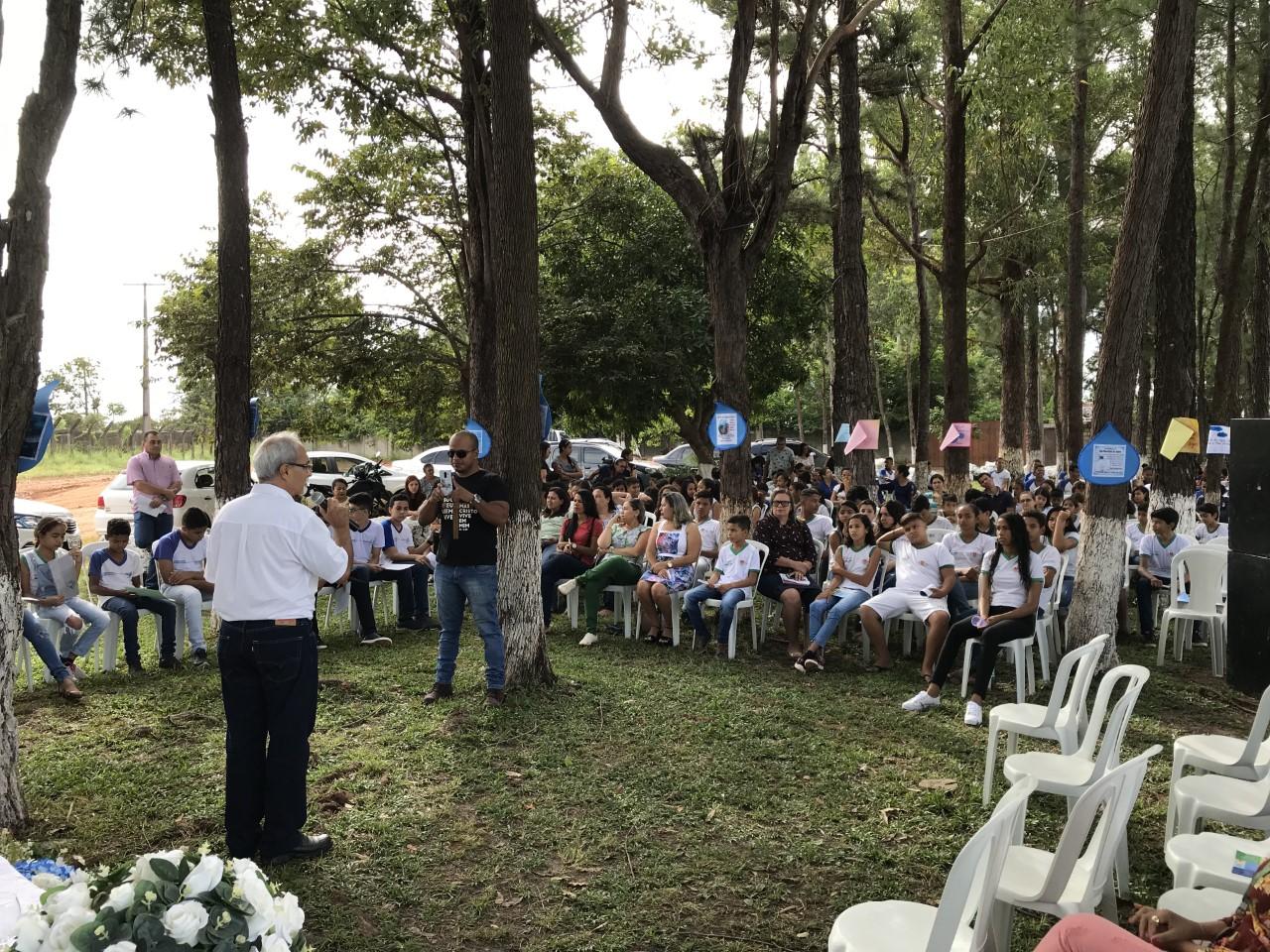 Naturatins de Formoso do Araguaia participa de atividades para valorização da água