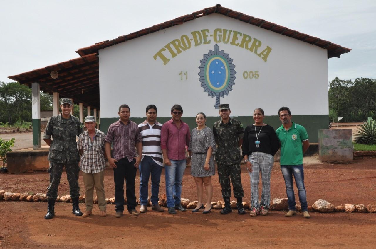 Horta educativa e alimentação saudável: Prefeitura de Porto Nacional apoia implantação de projeto no Tiro de Guerra