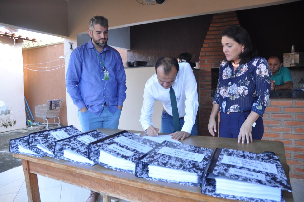 Prefeitura de Porto Nacional executa ações ambientais e entrega documentos ao Naturatins para pleitear o ICMS Ecológico