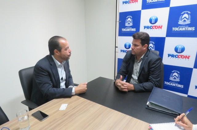 Procon/TO e Sebrae discutem parcerias para melhorar relações de consumo