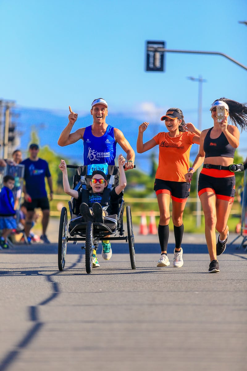 Jovem cadeirante vai participar da Mizuno Uphill Marathon 2019