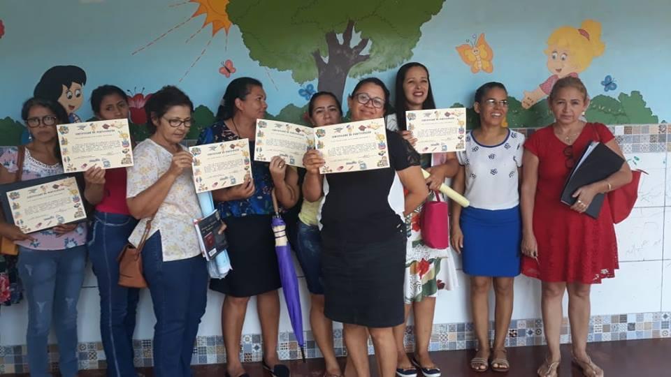 Educadores do município de Marianópolis participam de formação sobre BNCC