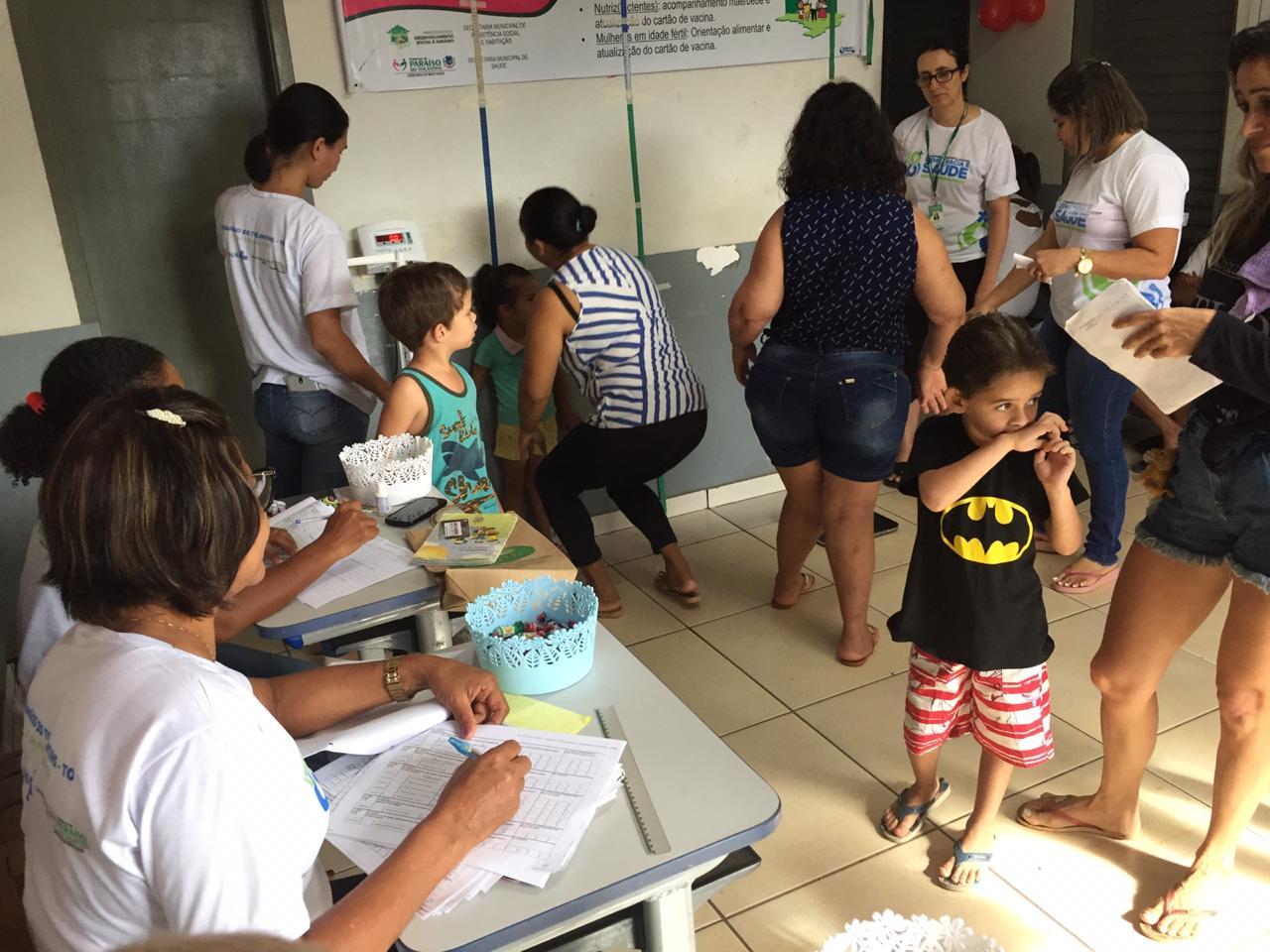 Em Paraíso, UBS do setor Jardim Paulista realiza dia de acompanhamento em Saúde para beneficiários do Bolsa Família