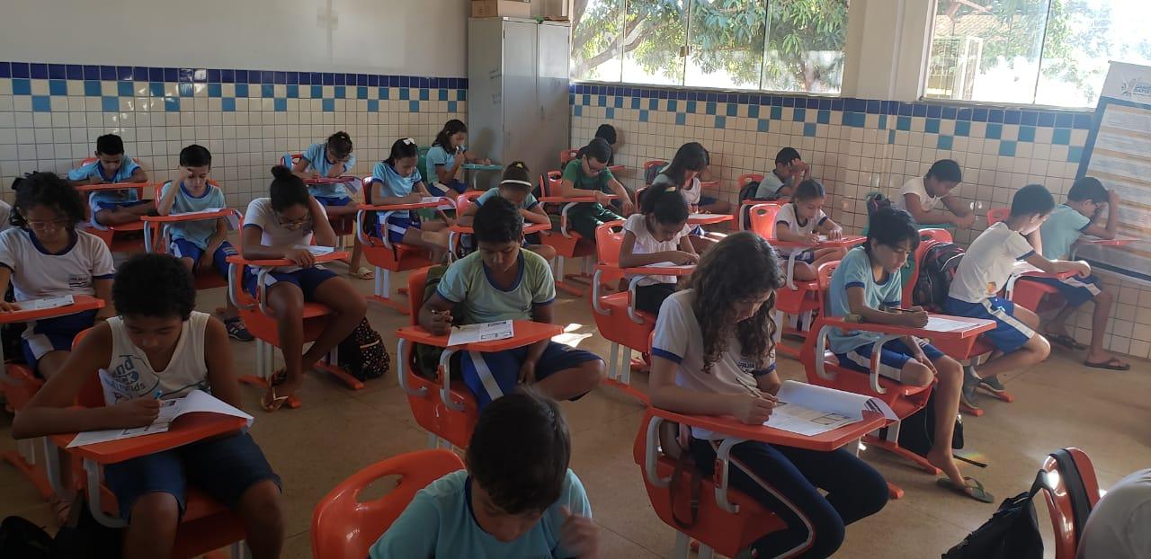 Escolas da Rede Municipal de Palmas aplicam simulados preparatórios para a Prova Brasil 2019