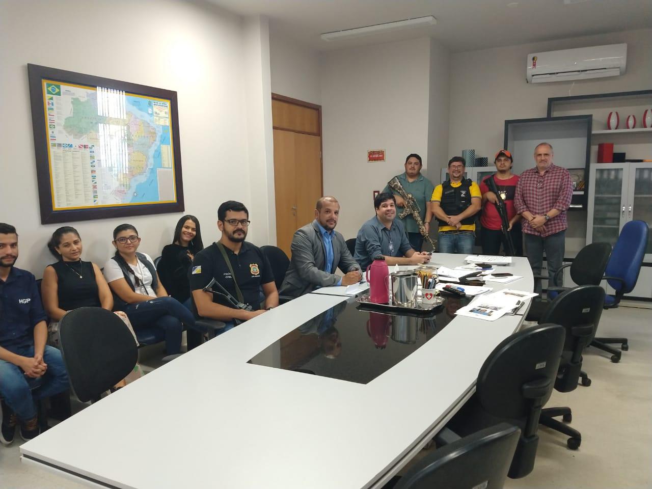 Hospital Geral de Palmas recebe força-tarefa da Polícia Civil
