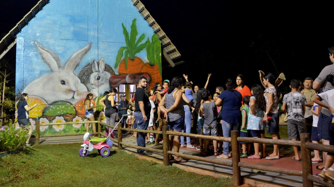 Páscoa Cidade Encantada encanta crianças no Parque Cesamar; programação segue até domingo, 21