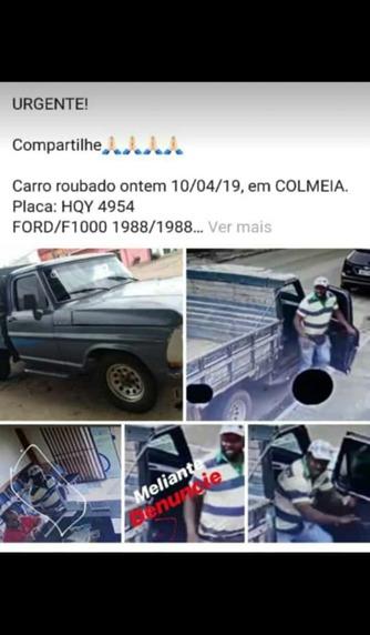 Polícia Civil recupera em Araguaína caminhonete furtada em Colmeia
