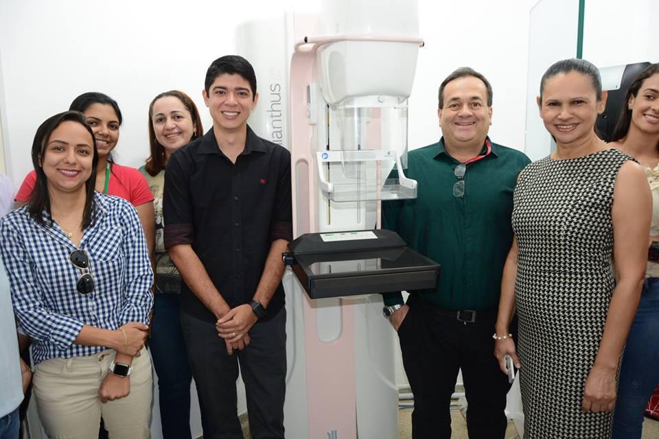 Mamógrafo digital torna cidade de Paraíso uma referência em diagnóstico do câncer de mama