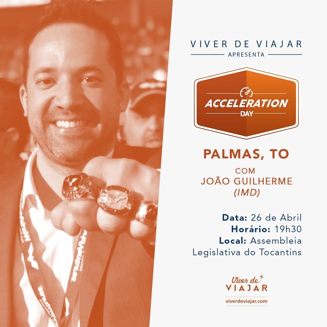 Pela primeira vez, Tocantins sediará o maior evento de empreendedorismo e inovação no setor de viagens; Inscrições abertas