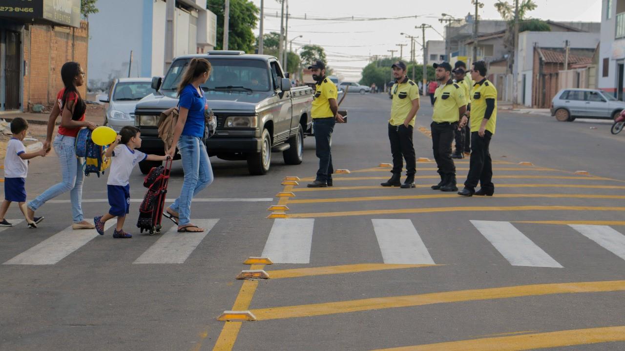 DMTS realiza campanha de educação no trânsito
