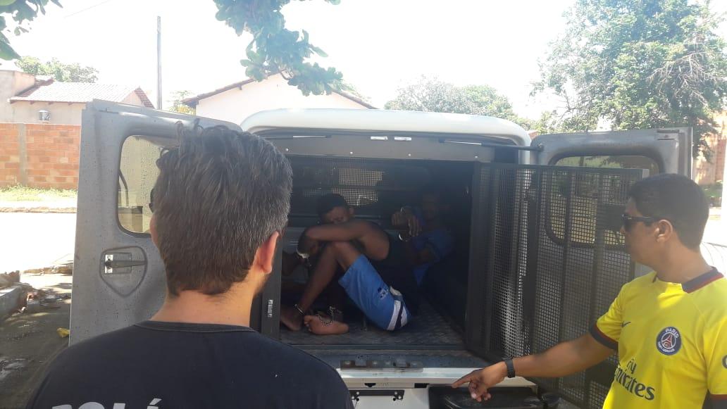 Ações integradas entre Polícia Civil e Sistema Prisional em Natividade apreendem um e prendem cinco criminosos em uma semana
