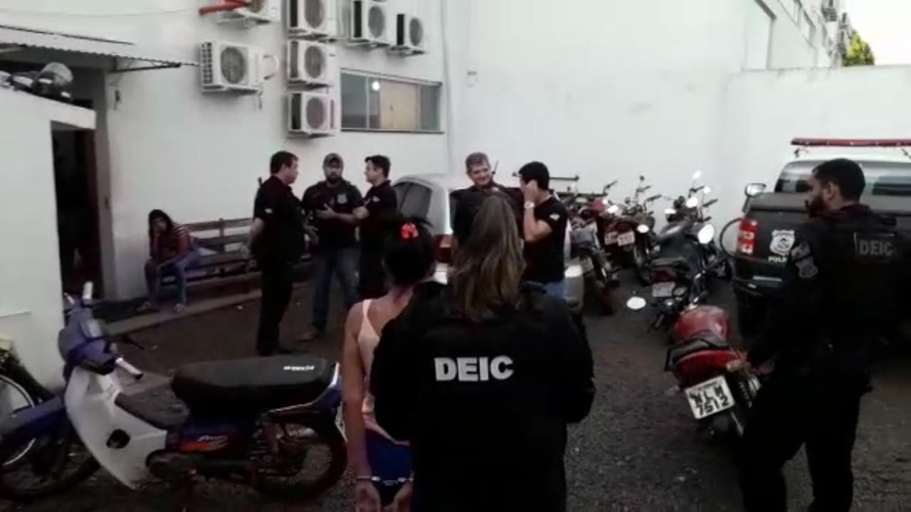 """Polícia Civil deflagra operação """"Hydra"""" e cumpre sete mandados de prisão por tráfico de drogas em Gurupi"""
