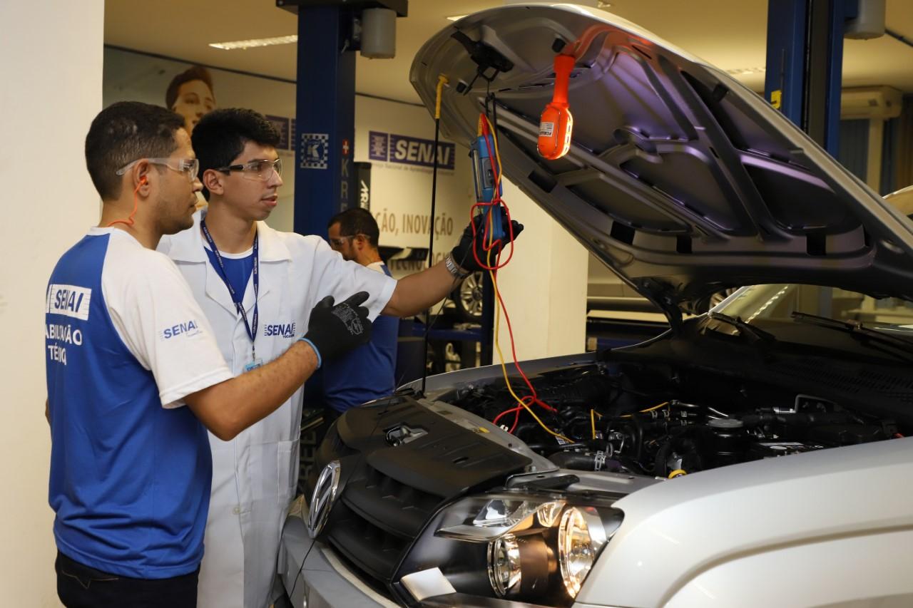 SENAI prorroga prazo de processo seletivo para instrutor da área automotiva  em Palmas