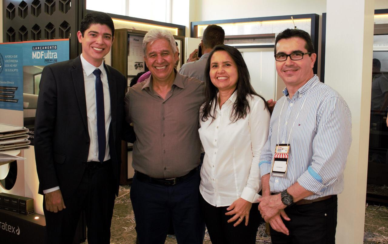 Em Palmas, Celso Morais participa de Exposição do Setor Moveleiro e visita TCE