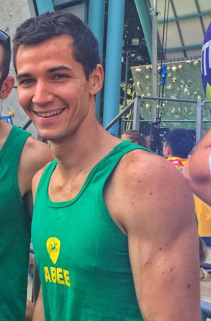 Escalador brasileiro faz balanço positivo de etapa da Copa do Mundo e foca em nova fase de treinos