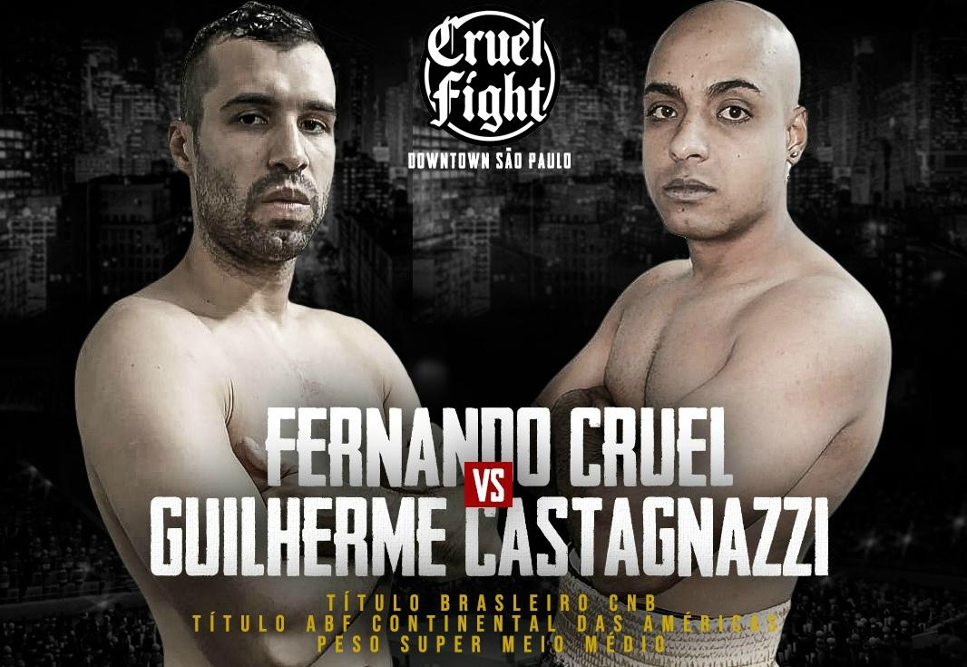 Boxe: Cruel Fight Downtown São Paulo tem ingressos à venda