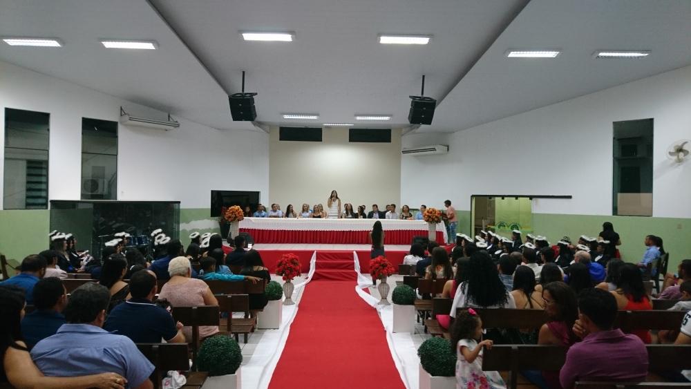 Cursistas do Profuncionário participam de solenidade de formatura em Paraíso