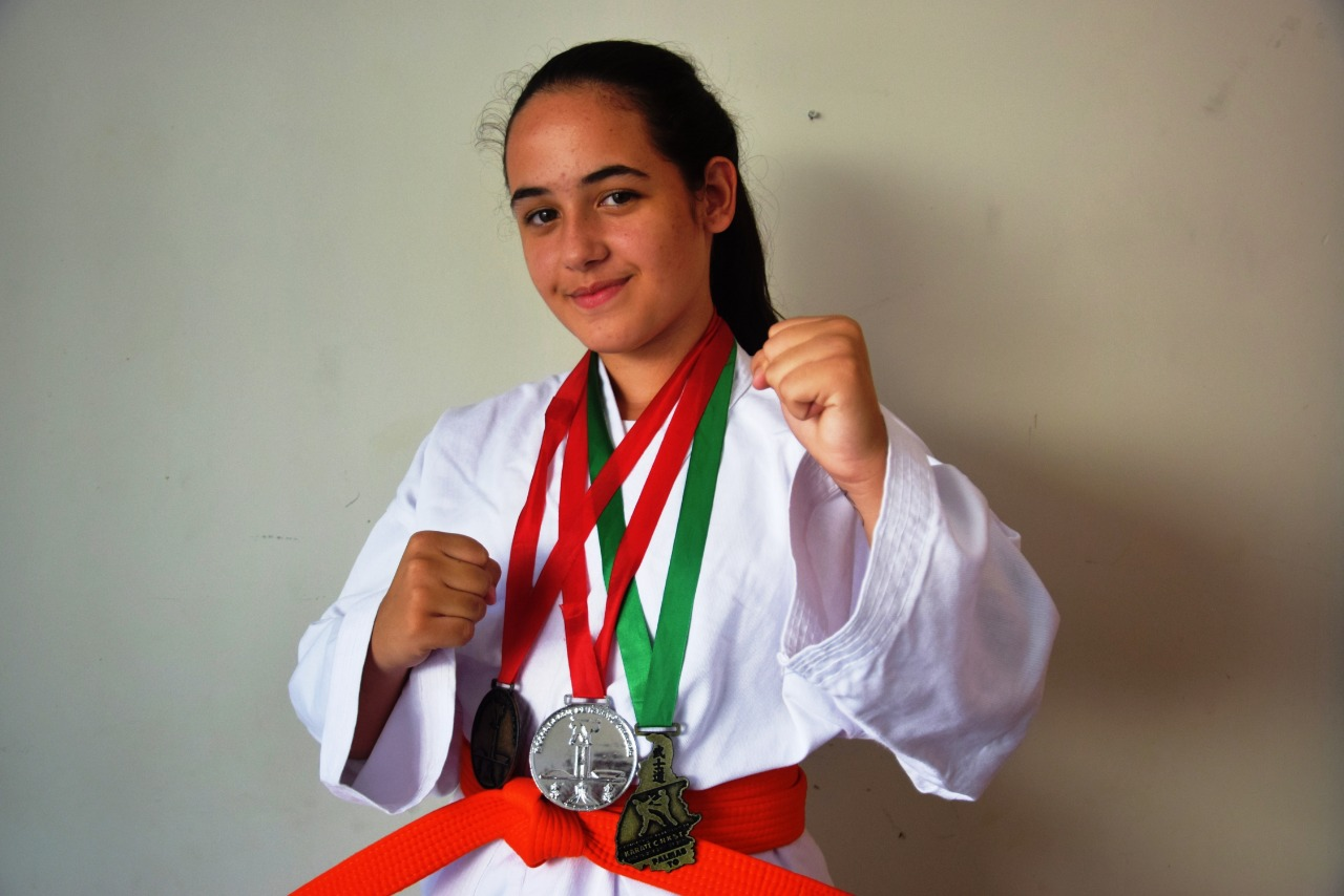 Carateca paraisense participará de campeonato mundial em Porto Velho