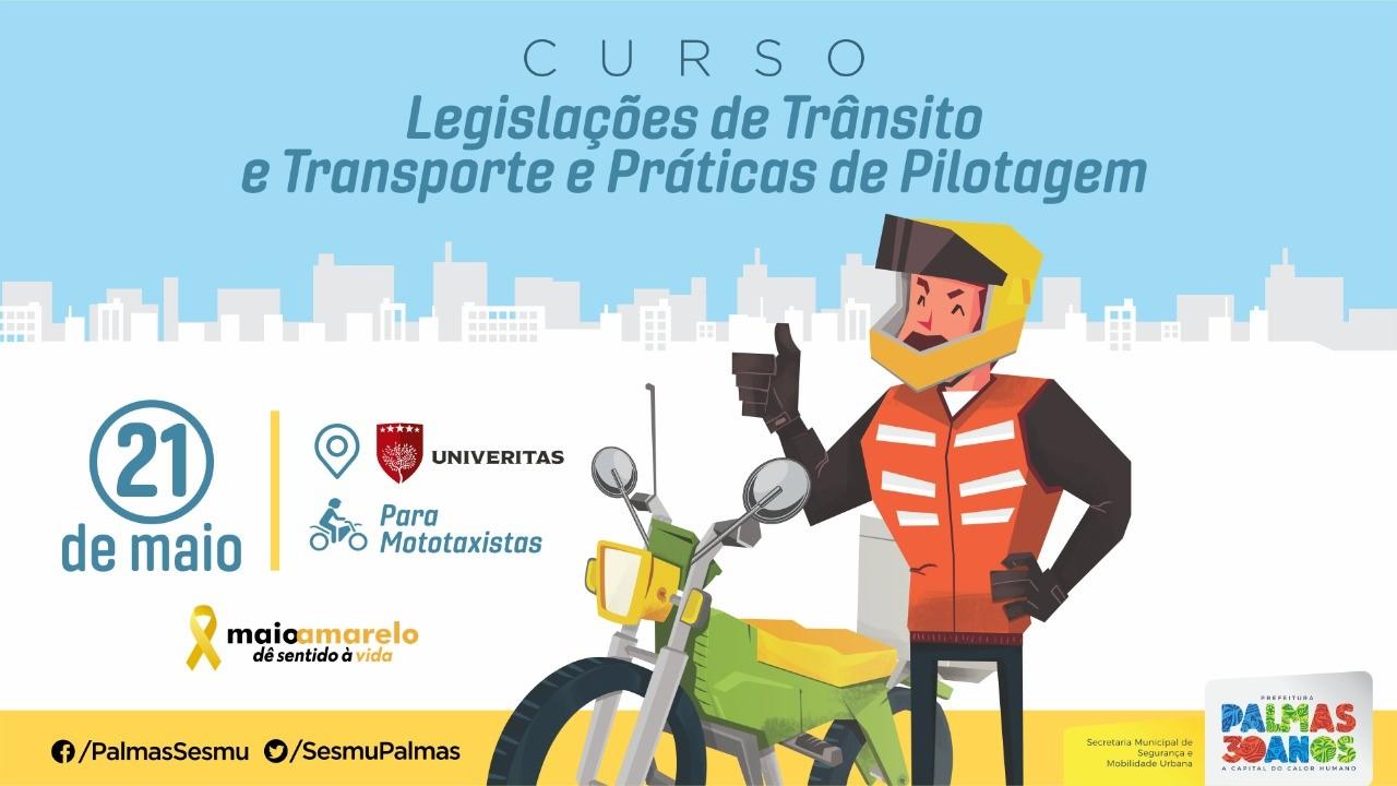 Diretoria de Fiscalização e Operação de Transporte promove curso de capacitação para os permissionários de táxi e mototáxi da Capital