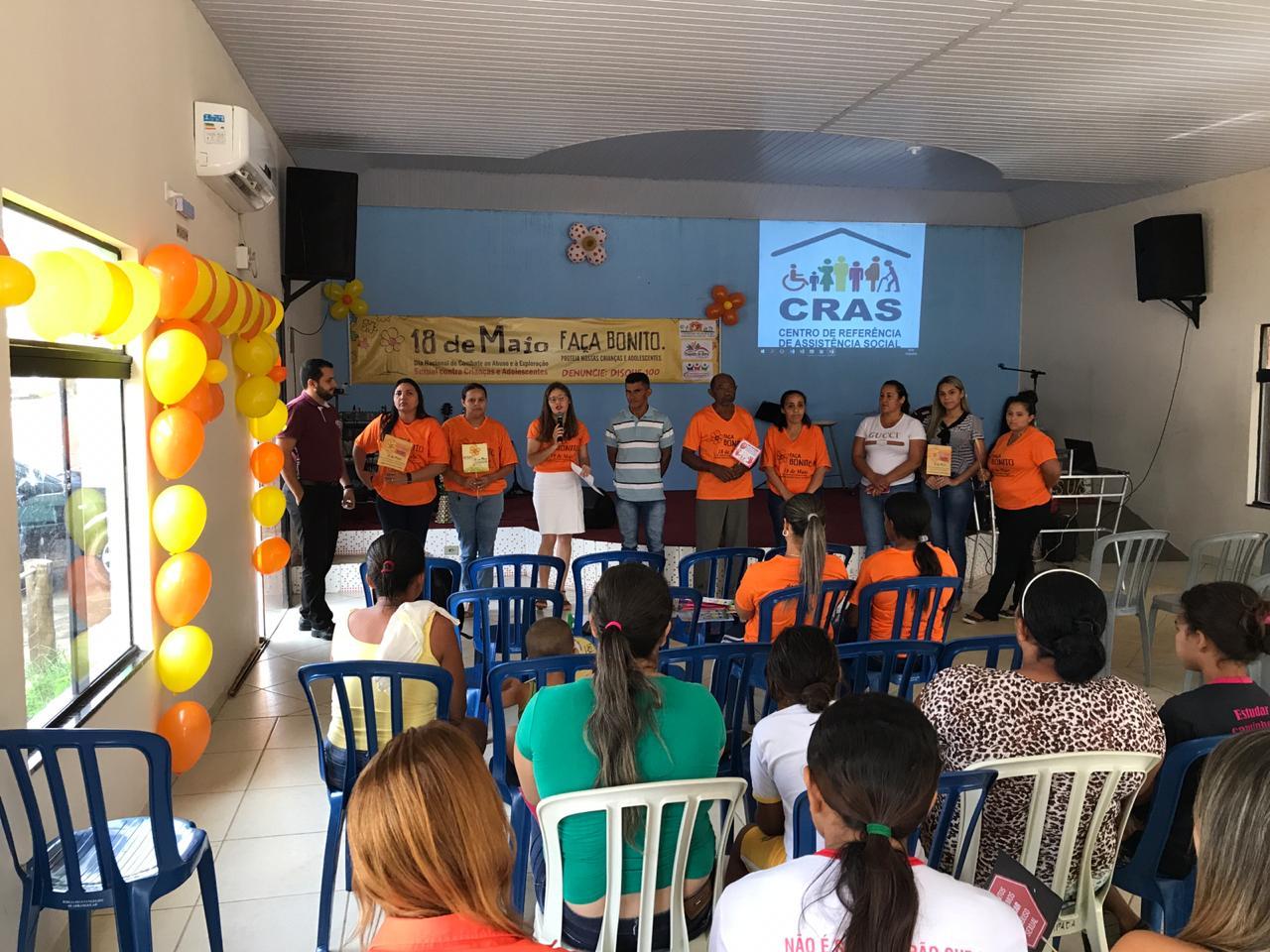 Palestra encerra campanha contra abuso e exploração sexual de crianças e adolescentes em Chapada de Areia