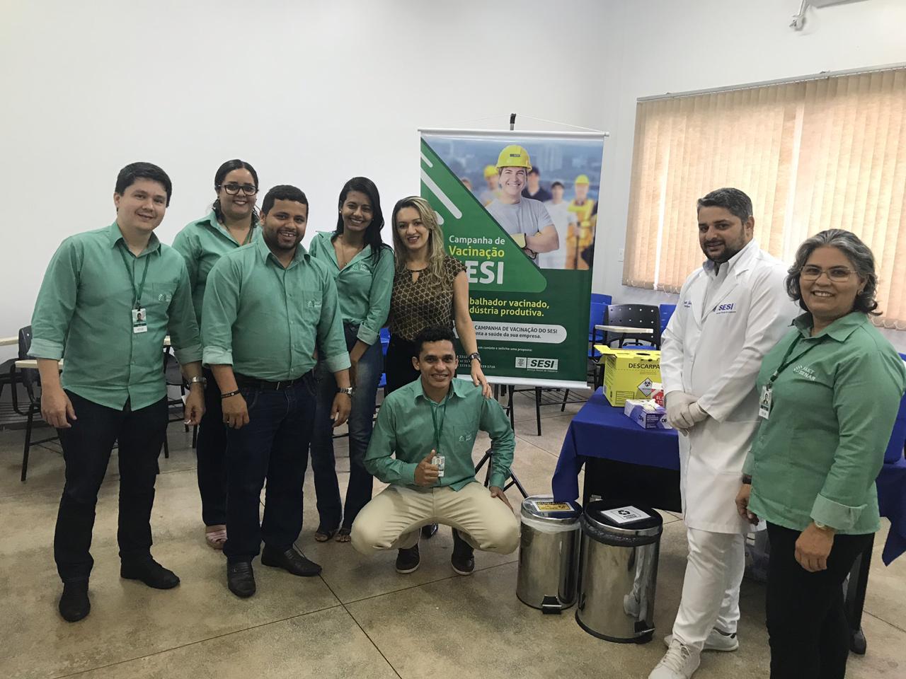 Sistema FAET/SENAR realiza dia de vacinação para os colaboradores contra vírus H1N1