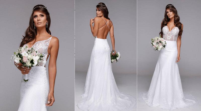 Noiva de Leandrinho Barbosa arrasa em ensaio para editorial de noivas