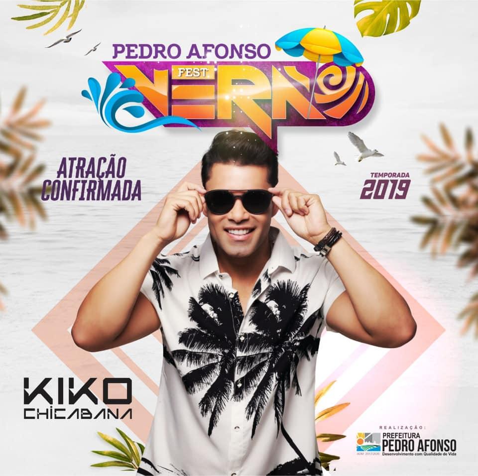 Segunda atração do Pedro Afonso Fest Verão 2019 é confirmada