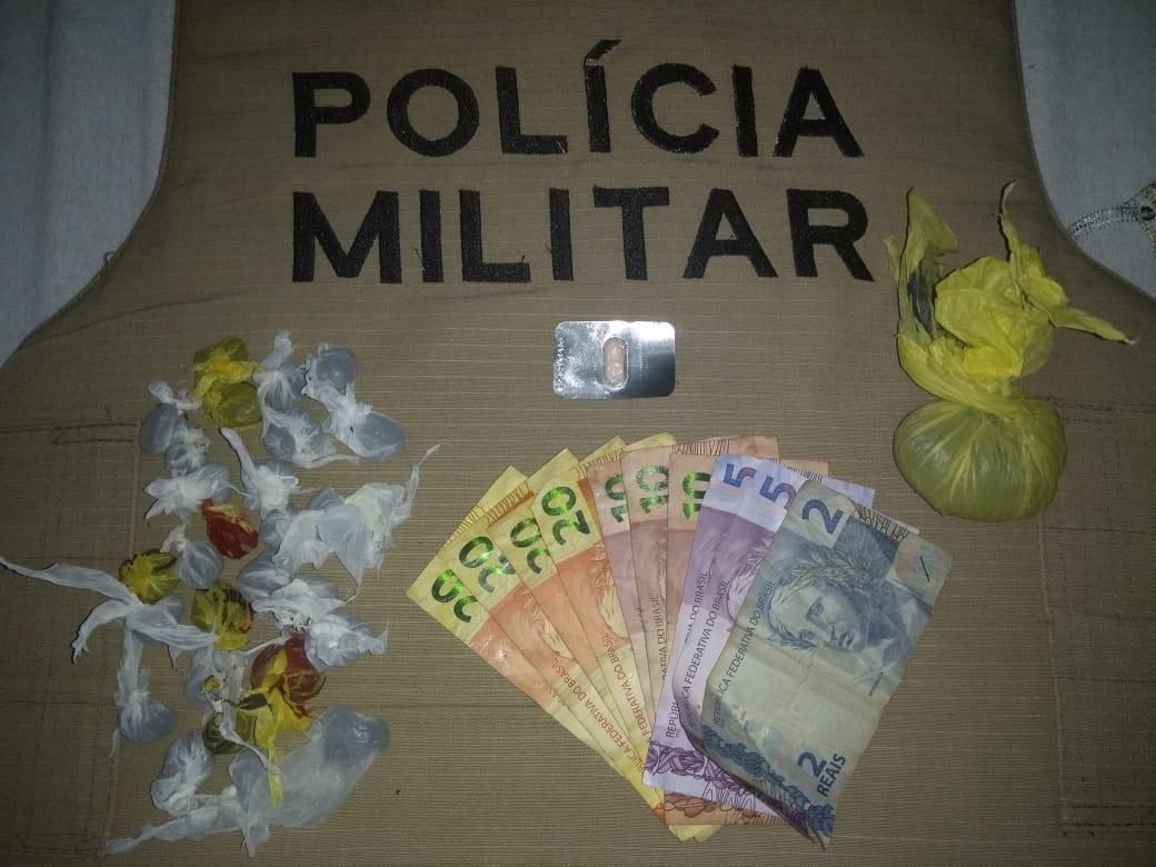 PM prende dois homens por tráfico de drogas em Divinópolis