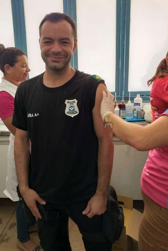 Campanha de vacinação contra gripe já foi realizada em 75% das unidades prisionais do Estado