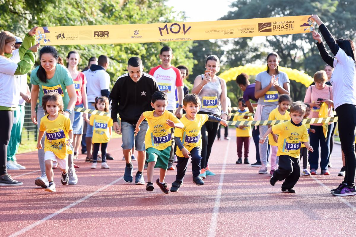 Evento esportivo infantil MOV chega com alegria a Salvador (BA) no dia 7 de setembro