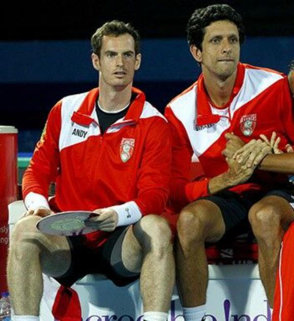 Marcelo Melo joga ao lado de Andy Murray no ATP 250 de Eastbourne na próxima semana