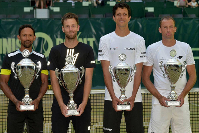 Melo e Kubot são vice-campeões do ATP 500 de Halle