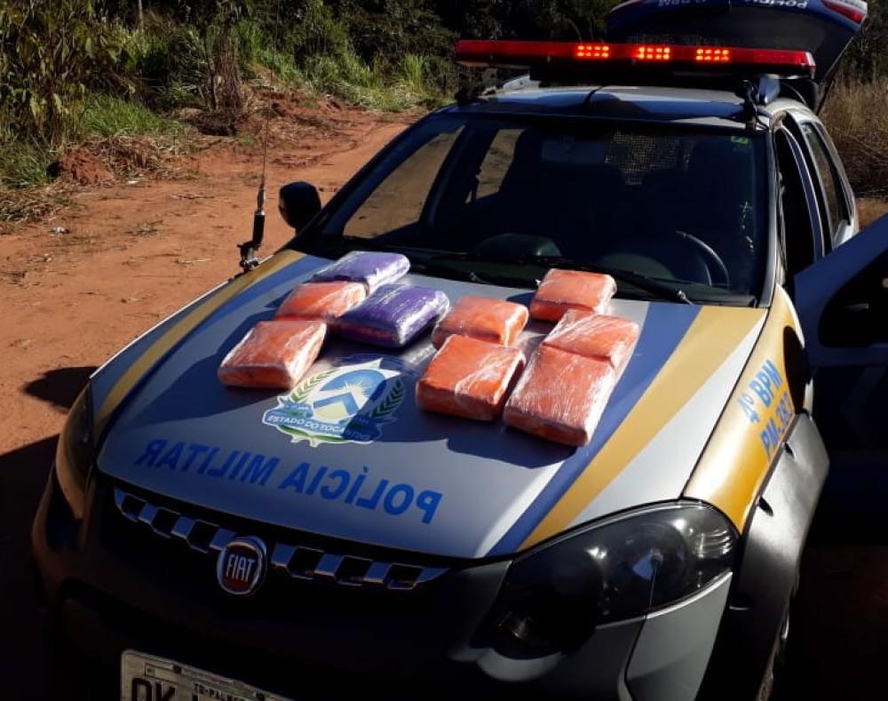 Passageiro é preso com mais de 9 kg de maconha em ônibus interestadual
