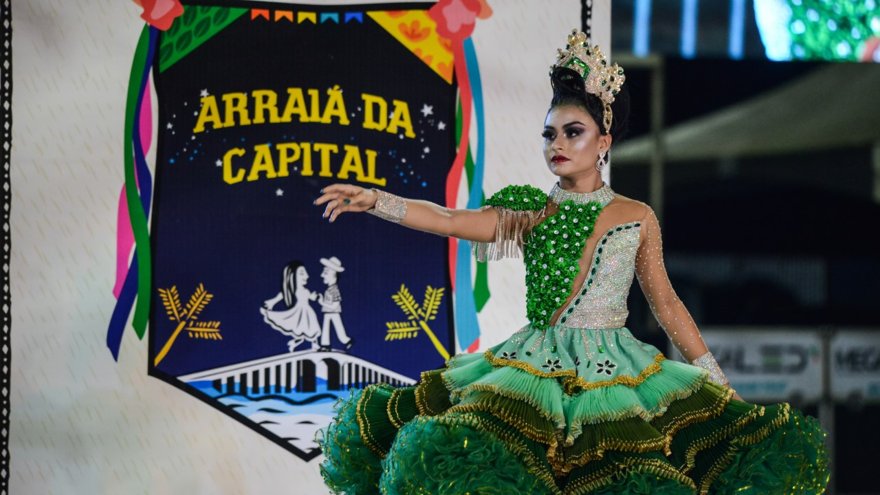 Gleisiane Teixeira Costa vence e se torna a Rainha, bicampeã do Arraiá da Capital