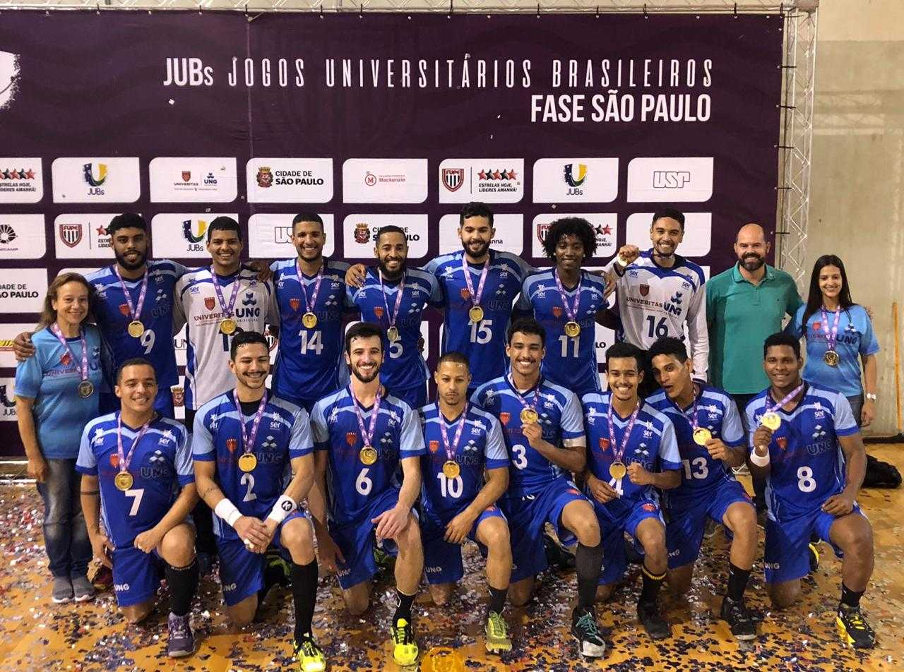 Handebol masculino vence a UNIP na final do JUBS