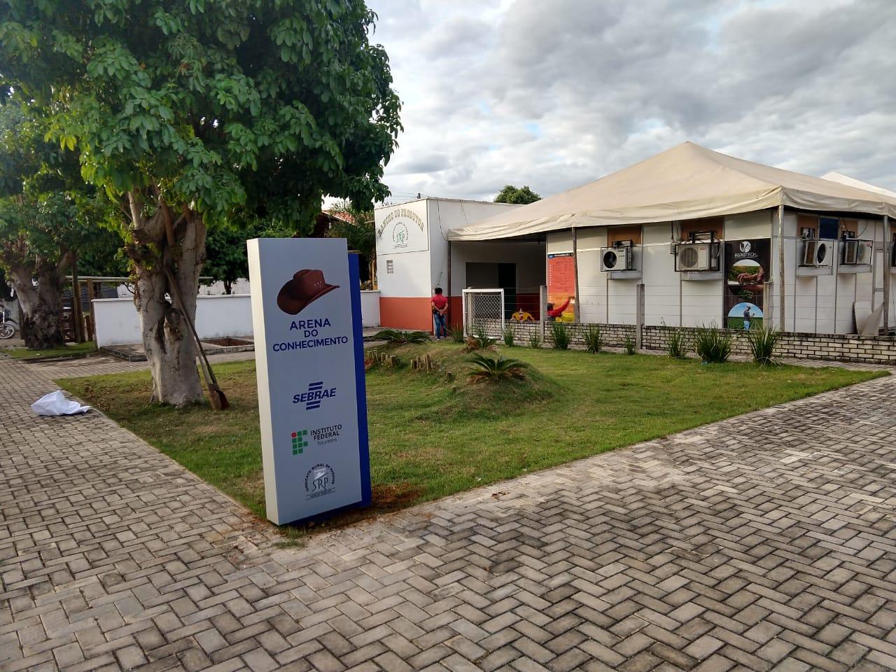 SEBRAE e IFTO capacitam produtores e oportunizam negócios durante a Expobrasil 2019