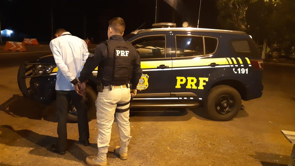 PRF prende suspeito de participar de latrocínio no ES