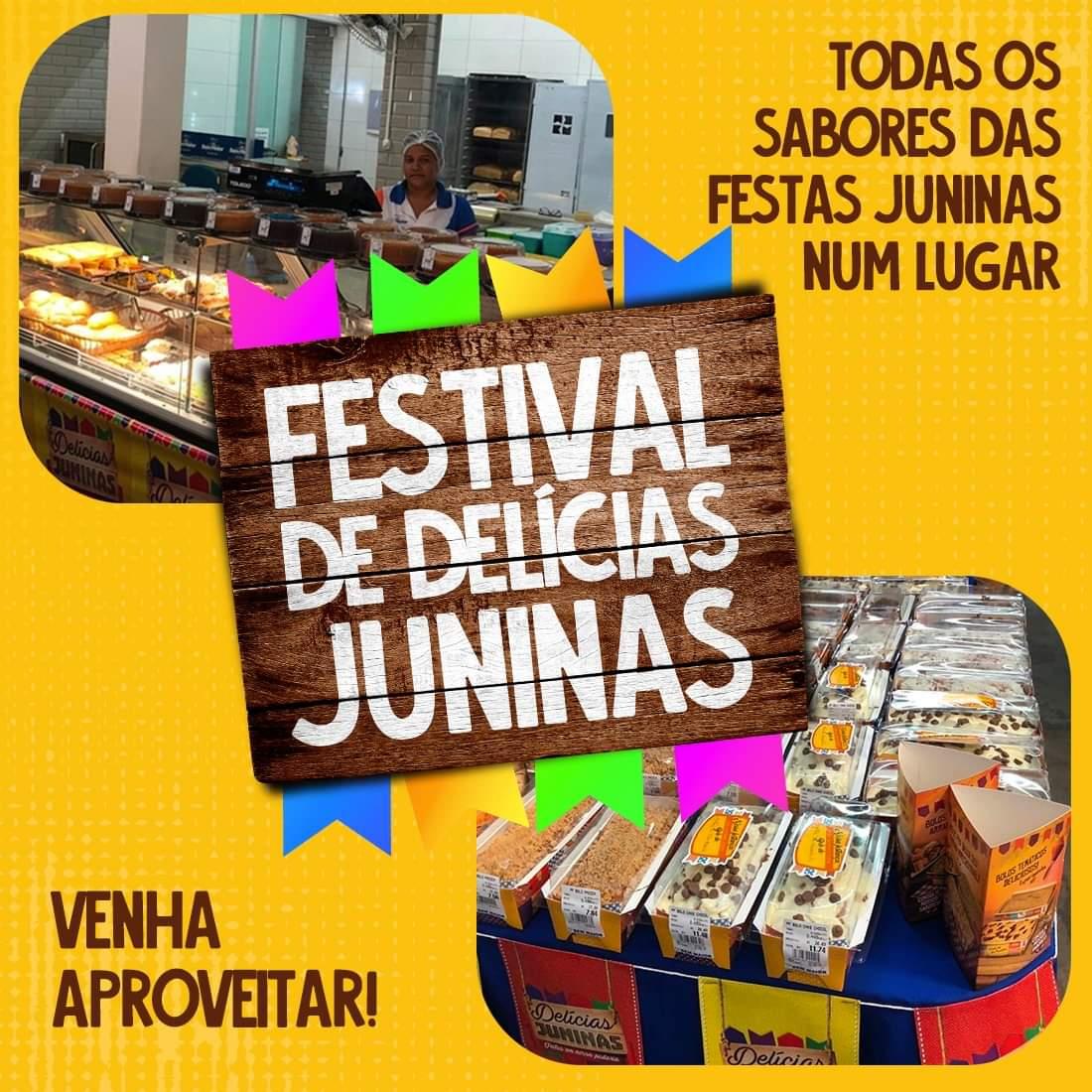 Supermercado Bem Maior tem ofertas e festival de delícias juninas neste feriadão em Paraíso